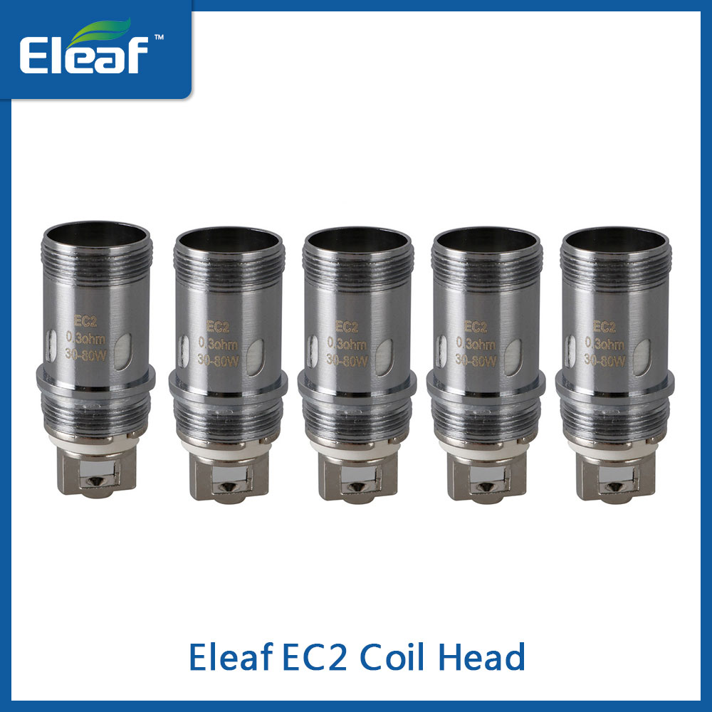 Original Eleaf <font><b>EC2</b></font> Coil 0.3ohm/<font><b>0.5ohm</b></font> Replacement Head for Eleaf Melo 4 Atomizer/iKuu Kit Electronic Cigarette Coil on Sale image