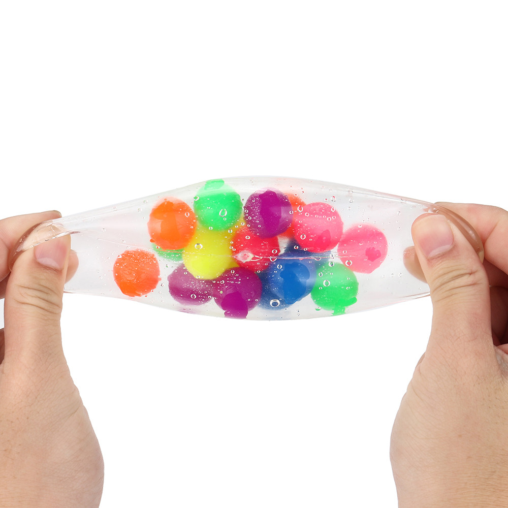 Non-toxic Color Sensory Toy Office Stress Ball Pressure Ball Stress Reliever Toy Squishies Slow Rising Stress Relief Squeeze Toy img4