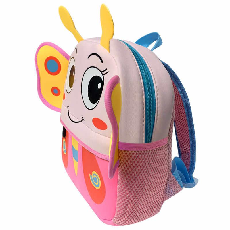 3D Animal Kinderen Rugzakken Brand Design Meisje Jongens Rugzak Baby Kids Bag Schooltassen Kleuterschool Cartoon Zak Mochila Escolar