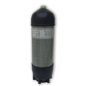 Image 2 - Acecare 9L CE Pcp HPA Tank 4500psi Carbon Gas Zylinder für Tauchen Druckluft Tank Luftgewehr Pcp Condor ventil M18 * 1,5