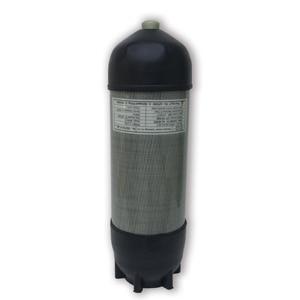 Image 2 - Acecare 9l ce pcp hpa 탱크 4500psi 탄소 섬유 가스 실린더 다이빙 압축 공기 탱크 공기 소총 pcp 콘도르 밸브 m18 * 1.5