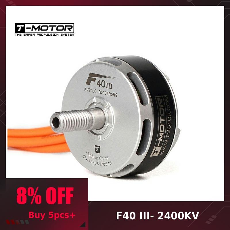 <font><b>T</b></font>-<font><b>Motor</b></font> <font><b>F40</b></font> <font><b>III</b></font> 2400KV 2600KV 2750KVBrushless <font><b>Motor</b></font> RC Drone FPV Racing Multi Rotor image