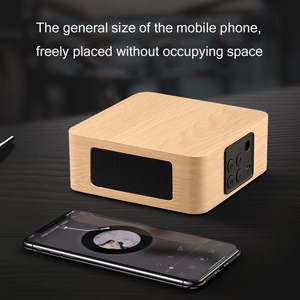 Image 2 - Bluetooth Wooden Bass Speaker Mini Wireless Subwoofer Portable Bass Column For Mobile Phone