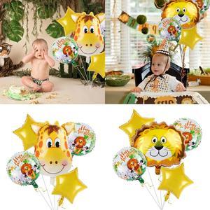 Image 3 - FENGRISE cartel de Aniaml para decoración de jungla, fiesta de cumpleaños, jungla, Fiesta Temática, fiesta de Safari, Baby Shower