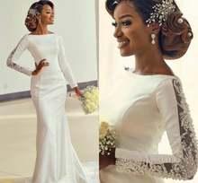 2020 арабские Дубаи великолепные кружевные свадебные платья