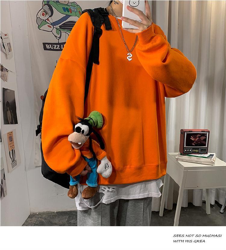 H019b417a0d694333bfa3a3d6b93f4c12e loose Korean style plus size sweatshirt winter clothes streetwear women 2020 new fashion plus velvet oversize harajuku hoodie