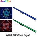 40X0.5W RGB светодиодный светильник для Пиксельной полосы с контрольным устройством  индивидуальное управление  настенный светильник  ночной к...