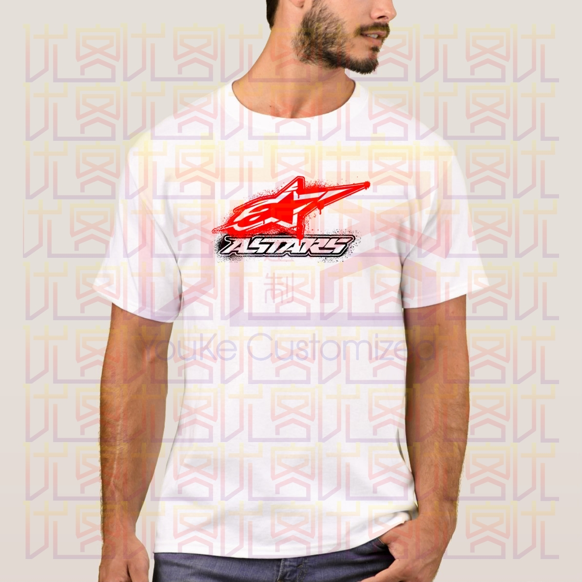 Newest 2020 Summer Men T-Shirt Fashion AlpineStar Casual Tees 100% Cotton Clothes T Shirt Homme Tops Tees S-4XL