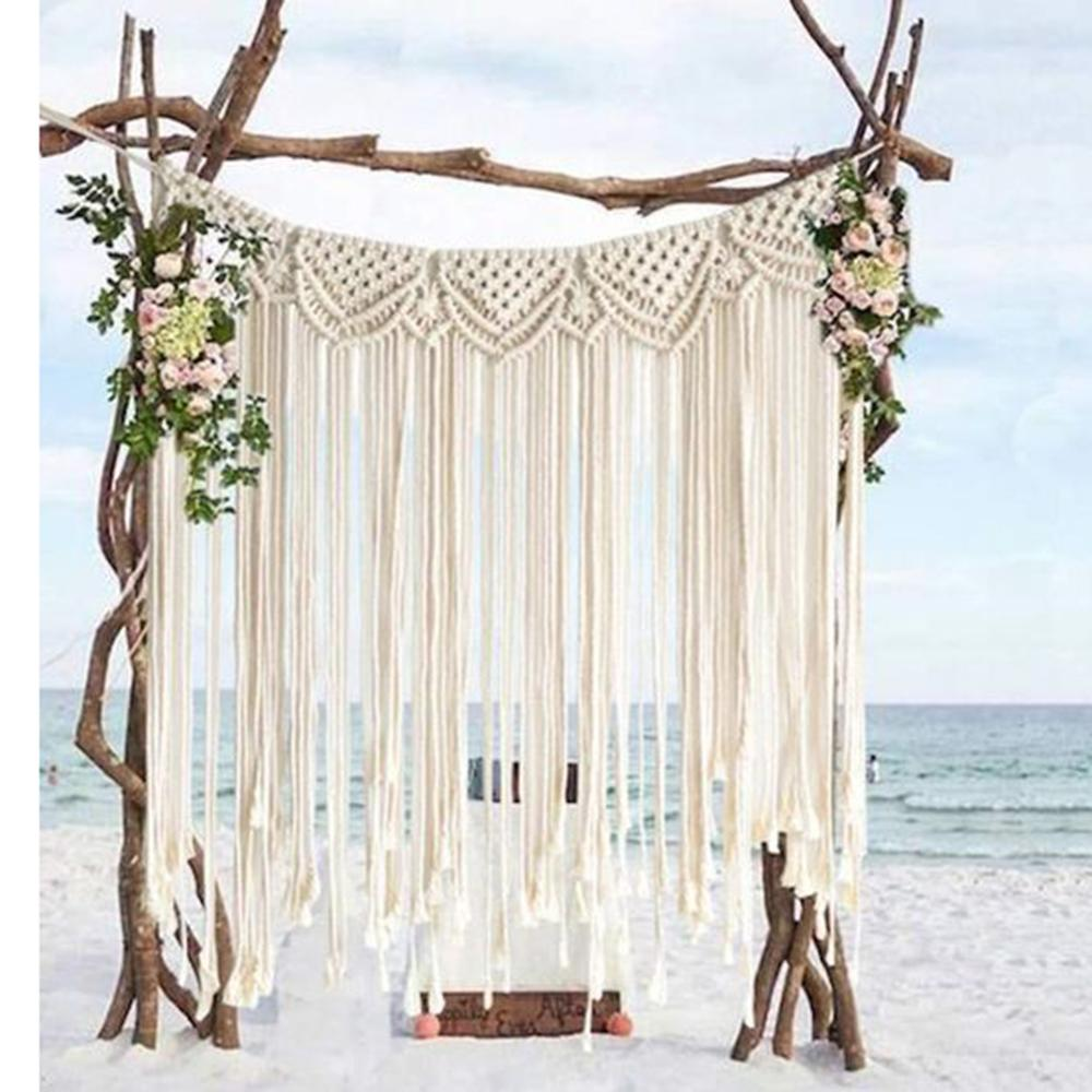 Large Tapestry Wedding Decoration Macrame Wall Hanging Room Decoration Kids Home Decoration Gift For  Women