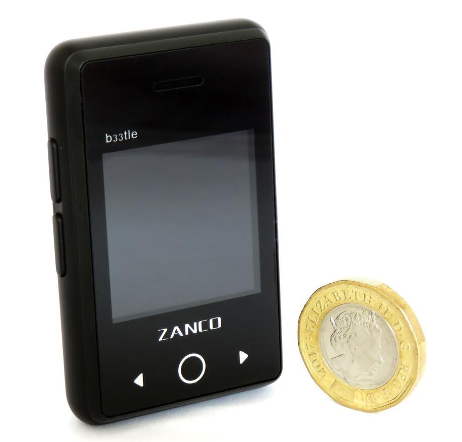 2G Zanco Beetle The World's Smallest PDA Phone 1.54Inch IPS Colour Screen Bluetooth 3.0 Mini Phone Portable Long standby
