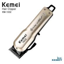 Kemei Strong Professional Hairdressing Beard Trimmer Electric Cordless Hair Clipper Epilator Barbero KM-1032