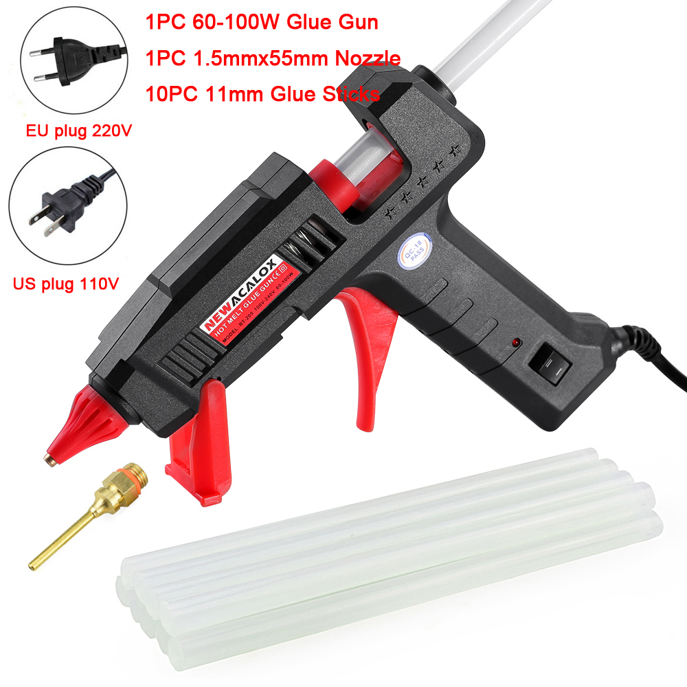 NEWACALOX Mini Hot Glue Gun for All Bonding Jobs of Any Office and House 5