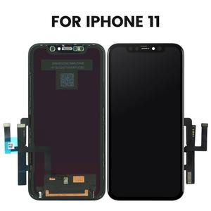 Image 2 - 아이폰 11 프로 최대 LCD 디스플레이 화면 디지타이저 아이폰 11 LCD 화면에 대 한 터치 스크린 어셈블리에 대 한 3pcs