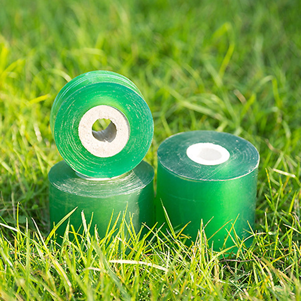 2CM X 100M / 1 Roll Grafting Tape Garden Tools Fruit Tree Secateurs Engraft Branch Gardening Bind Belt PVC Tie Tape 2cm 3cm 5cm