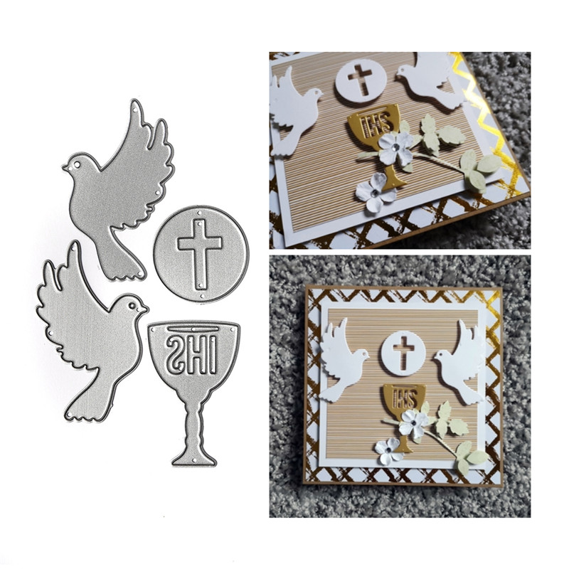 Eastshape Animal Bird Shaped Metal Cutting Dies New 2019 Stitch Legno Muore Easter Craft Die Stencil