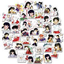 40 шт/компл inuyasha Мультяшные японские аниме наклейки s для