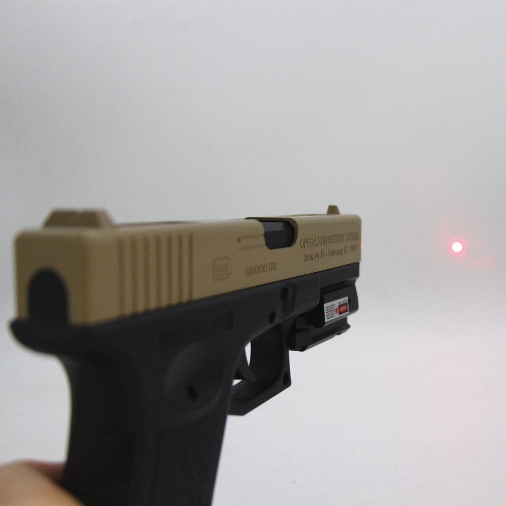 Tactical glock Red Dot Laser Sight for glock 17 19 22 23 31 32 Pistol Airsoft Gun Sight laser Scope 20mm rail laser for hunting-4