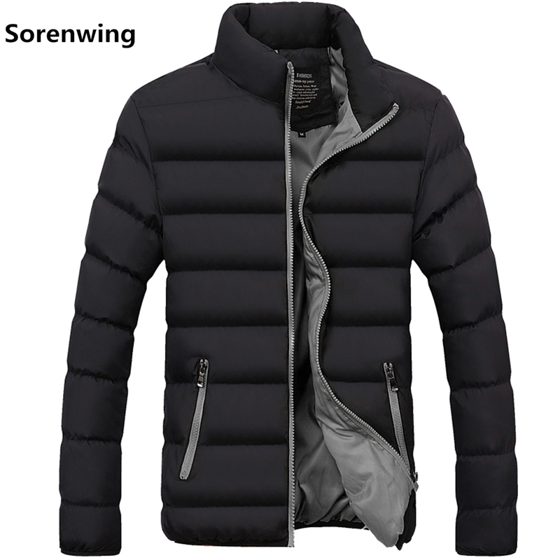 Winter Jacket Clothing Windbreakers Thermal-Coats Men's Coat Parkas Men Warm Thick Casual title=