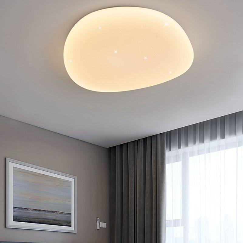 moderno quarto contratado absorve luz cupula lampada 04