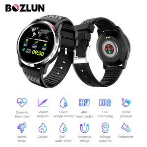 Bozlun W3 Smartwatch ciśnienie krwi tlen pulsometr zdrowie Fitness Tracker inteligentna bransoletka dla Huawei IOS Android