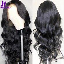 HairUgo Malaysia Body Wave Wigs 4*4 Lace Closure Wig 100%