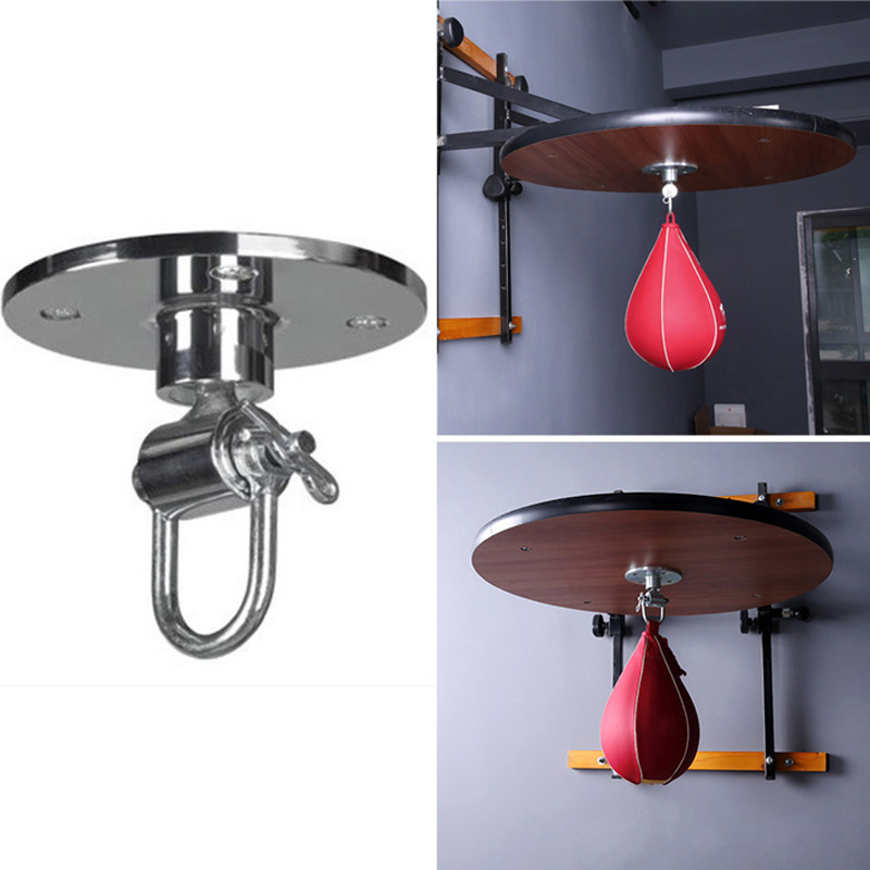 Pear Speed With Swivel Boxing Punch Bag Set Leather Ball Boxing Training Ball