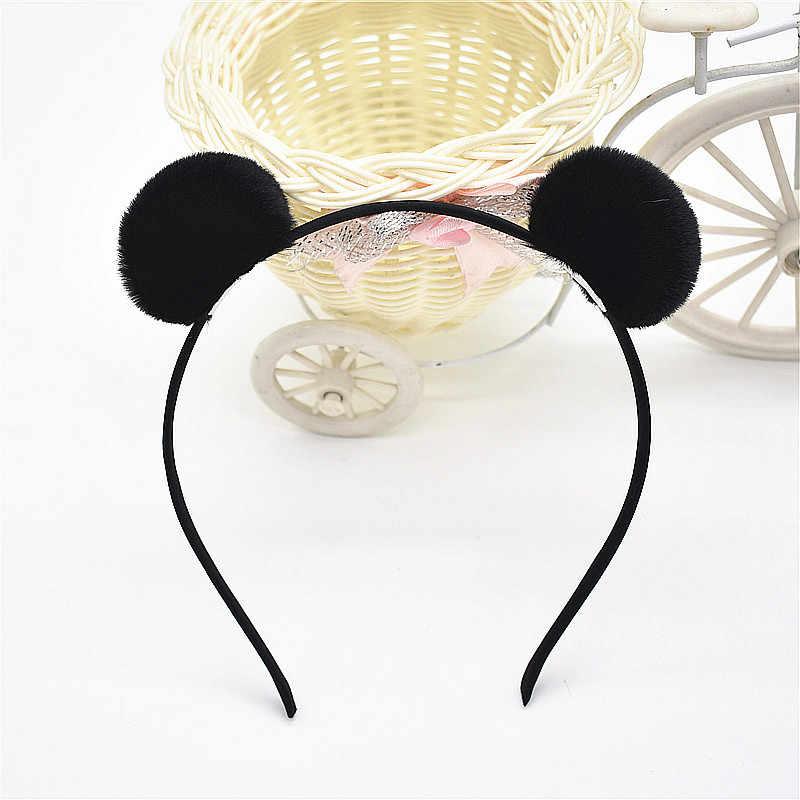 1pc สาวหวานสวย Hairband Headpieces กระต่ายหูตุ๊กตาใหญ่หัวผม Hoop อุปกรณ์เสริมผม Tiara สำหรับเด็ก