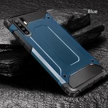 Luksusowy pancerz odporny na wstrząsy futerał na telefon do Huawei Honor 20 Pro 10 9 Lite 10i 8X pełna pokrywa P20 Lite P30 P40 Mate 20 30 zderzak tanie tanio QUCUPK CN (pochodzenie) Pół-owinięte Przypadku Armor Shockproof Case P30 Lite Zwykły Cartoon