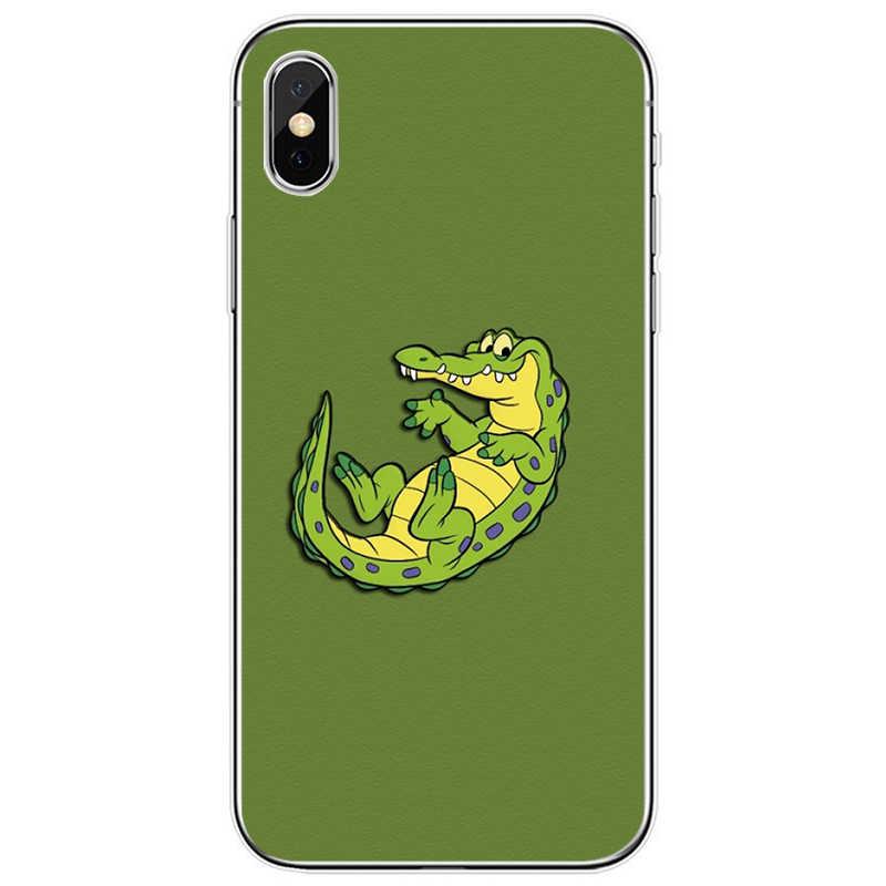 Xanh Tối Giản Hình Bao Da Silicone Mềm TPU Ốp Lưng Điện Thoại Iphone 5 5S SE 6 6 Plus 7 8 plus X XS XR XS Max 11 Pro Max