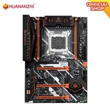 HUANANZHI X79 DELUXE V7.1 anakart LGA 2011 ATX USB3.0 SATA3 PCI-E NVME M.2 destek REG ECC NON-ECC bellek
