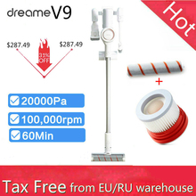 Youpin Dreame V9 Snoerloze Stofzuiger Dust Collector Draadloze Mi Robot 20000 Pa 120 Aw Zuig Home Auto Tapijt Reinigen