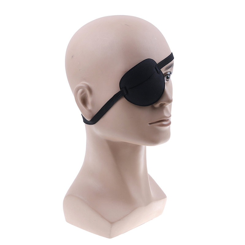 1PCS Adult Child Single Eye Cover Portable Soft Eye Patch Amblyopia Traning Goggles Eyeshade Sleeping One-eyed Cover Eye Mask
