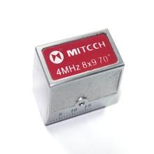 Mitech 70 градусов 4 МГц 8x9 мм угол луча контактный датчик для ультразвуковой дефектоскоп