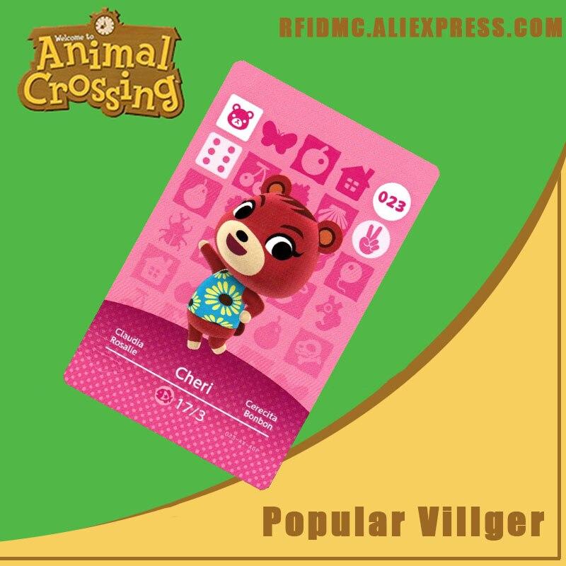 023 Cheri Animal Crossing Card Amiibo For New Horizons
