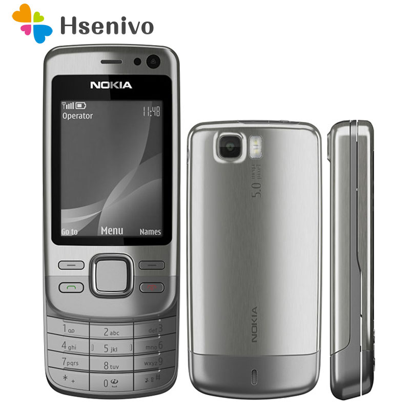 6600S 100% original phone Nokia 6600 slide refurbished cell phone Black color in Stock refurbished image