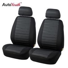 AUTOYOUTH Vorne Auto Sitzbezüge Airbag Kompatibel Universal-Fit Die Meisten Auto SUV Auto Zubehör Auto Sitz Abdeckung für Toyota 3 farbe