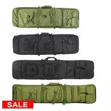 95cm/120cm taktik silah çantası yastıklı silah çantası açık çekim avcılık çantaları dişli askeri aksesuarlar taşıma kılıf