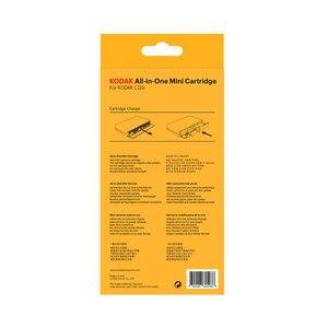 Image 5 - KODAK Juego de cartuchos de papel todo en uno C210, tecnología de impresión apalancamiento 4Pass 20 40 50 100, tinta para paquete de impresora fotográfica