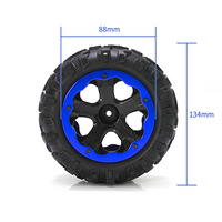 RC Thunder remote car control Tires remote control off road model racing truck car wheel model off road wheel set accessoriesToy