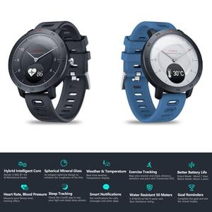 Image 3 - Zeblaze HYBRID 2 Smart Uhr Herz Rate Blutdruck Schlaf Tracking Armbanduhr Smart Timer Sport Wasserdicht Männer Smartwatch