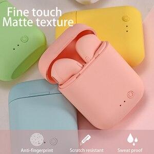 BOHM Mini-2 TWS Bluetooth 5.0 Earphone TWS Matte Macaron Earbuds With Mic Charging Box Headset Wireless Headphones
