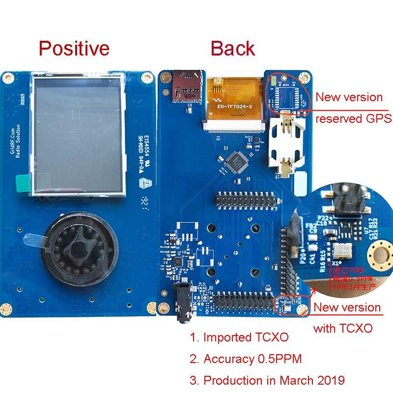 2019 New Version PORTAPACK For HACKRF ONE 0.5ppm TCXO Clock Metal Case SDR Software Defined Radio Offline GPS Simulator H053