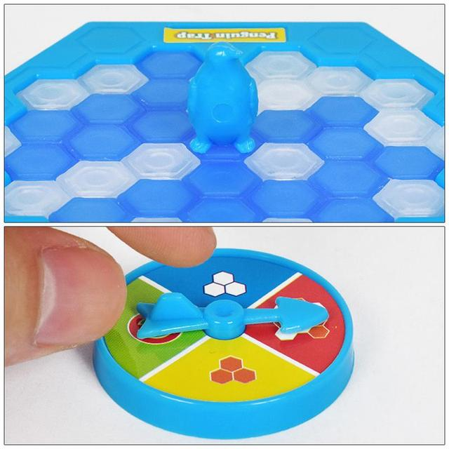 Mini Penguin Trap Board Game Ice Breaking Save The Penguin Party Game Parent child Interactive Entertainment