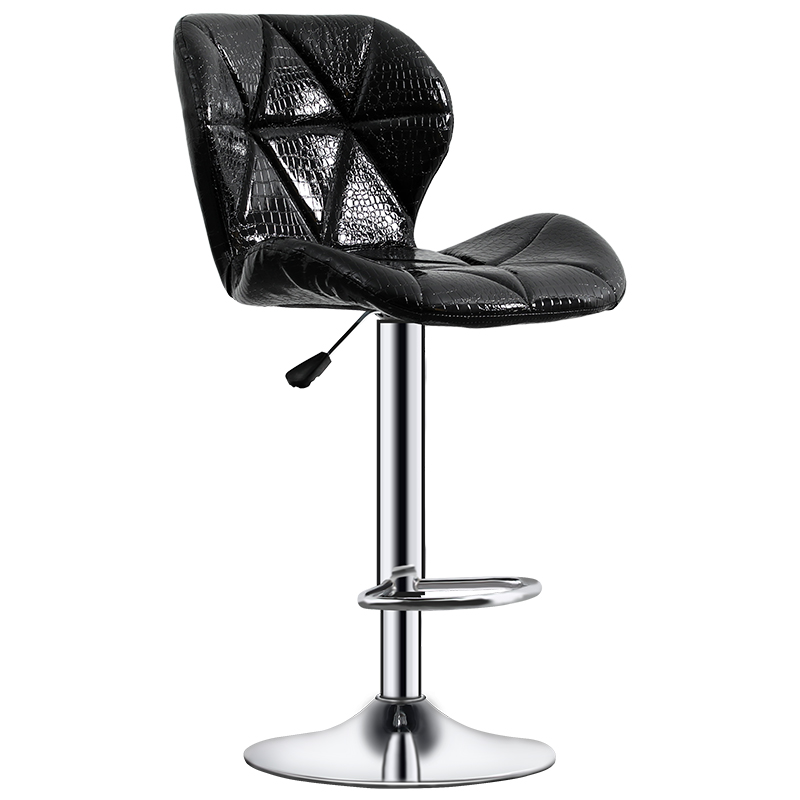 Bar Chair Modern Backrest High Bar Table Stool Simplicity Originality Artificial Leather Cadeira Bar Furniture