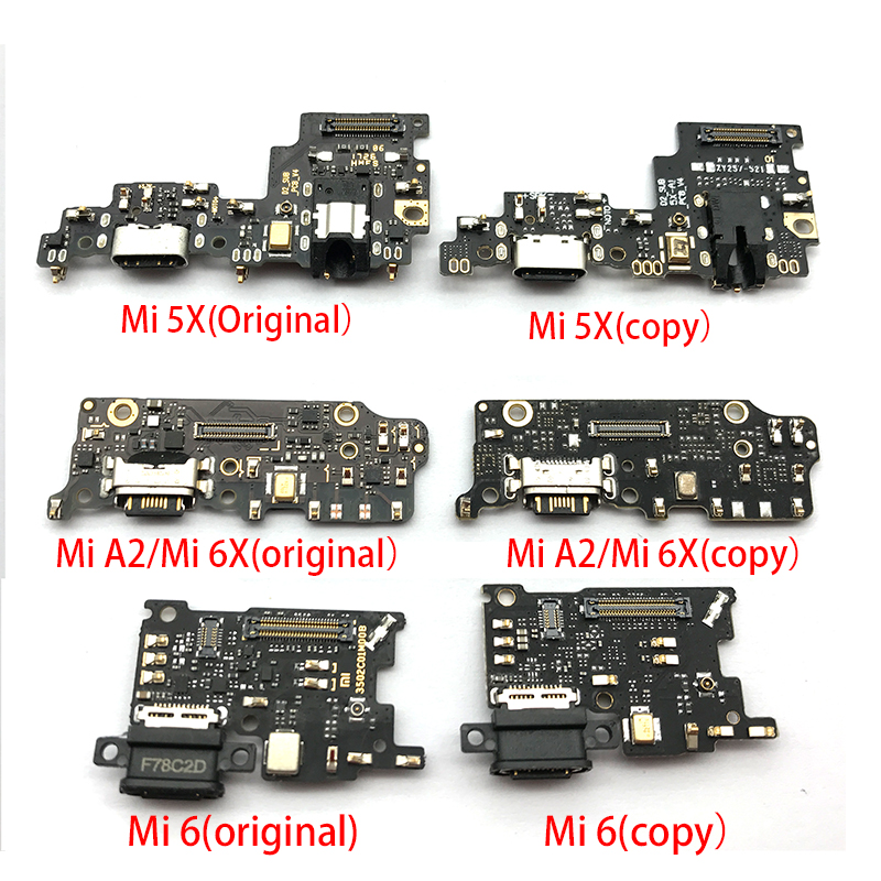 New USB Charging Port Dock Connector Board Flex Ribbon Cable For Xiaomi Mi A1 A2 5 Mi5 Mi6 5S Plus Note 2 5X 6X