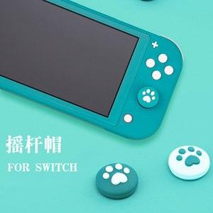 Image 4 - Pour Nintendo Switch JoyCon bouchon à bascule poignée chat griffe gauche et droite fendu chat griffe bouton capuchon interrupteur poignée