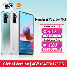[Première Mondiale En stock] Version mondiale Xiaomi Redmi Note 10 Smartphone Snapdragon 678 AMOLED Affichage 48MP Quad Caméra 33W