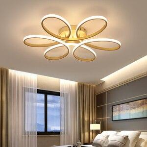 Image 3 - โมเดิร์นโคมไฟระย้าLedโคมไฟสำหรับห้องนั่งเล่นLamparasโคมไฟระย้าแสง72W 90W 120W Lampadarioโคมไฟแสง