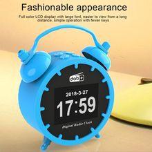 Radio Bluetooth Alarm-Clock Music-Player DAB/DAB with 2in-Color Dual-Alarm-Setting