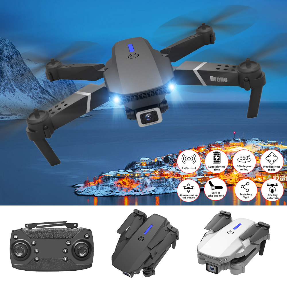 Willkey LS-E525 2 4G Drone 4k Profesional RC Dron Quadcopter Foldable Toys Drone With Camera HD 4K WIFi FPV Drone